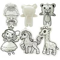 DIY自畫可水洗充氣娃娃-第一代!長頸鹿