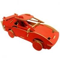 DIY汽車積木音樂盒-法拉利