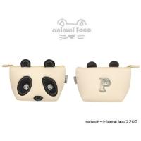 日本sunlemon☆動物FACE化妝包-熊貓