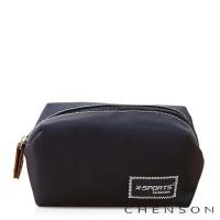 CHENSON 時尚旅行[圓角機場系列]化妝收納包/藍色天際(CG20754-6)