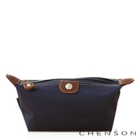 CHENSON 時尚旅行[牛角機場系列]化妝收納包/藍色天際(CG20753-6)