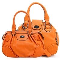 【熱賣搶手款.買一送一$599】買CHENSON斜背包(橘).再送肩背包(CG65980-O+CG65977)