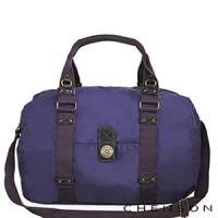 《限時5折》CHENSON無重力漫遊.輕旅行斜肩包(附背帶)/紫色(CG56516-V)