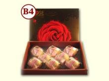 【玫瑰禮盒】紅麴千層麻糬酥8入