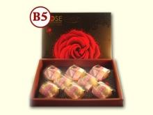 【玫瑰禮盒】紅麴千層蛋黃酥8入