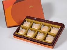 【御藏】純綠豆椪8入禮盒(蛋奶素)