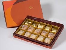 【御藏】綜合15入禮盒★土鳳梨酥*5+金韻蛋黃酥*5+綠豆小月餅*5(蛋奶素)