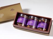 漢坊【御點】杏仁巧克力手工餅乾3入禮盒(蛋奶素)