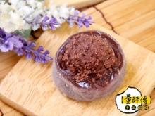 手工紫米紅豆麻糬