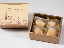 漢坊【典藏】綠豆小月餅4入禮盒(蛋奶素)