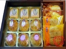 精裝B~寶貝蛋黃酥+小月餅+水果酥+奶油酥餅+芝麻燒餅