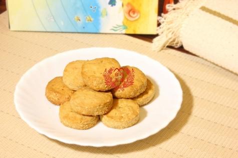 雙寶手工餅乾伴手禮盒(巧克力杏仁酥+燕麥香酥餅)