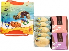 海宴三采A~奶油酥餅+燕麥餅+香酥棒