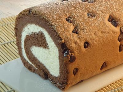 北海道鮮奶戚風蛋糕-巧克力