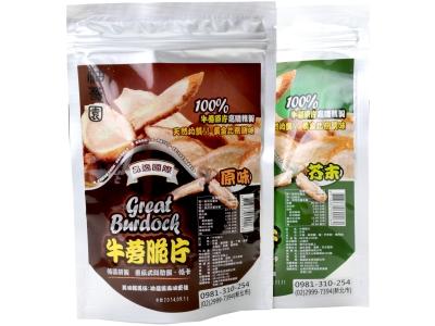 台南將軍牛蒡脆片-原味