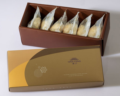【御點】漢坊金沙小月6入禮盒(蛋奶素)