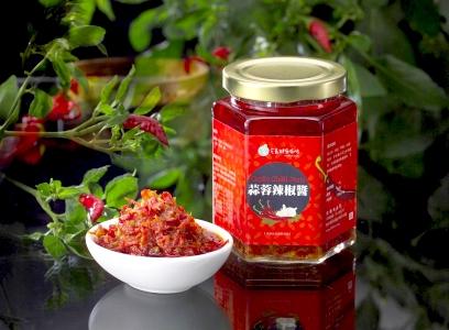蒜蓉辣椒醬240g