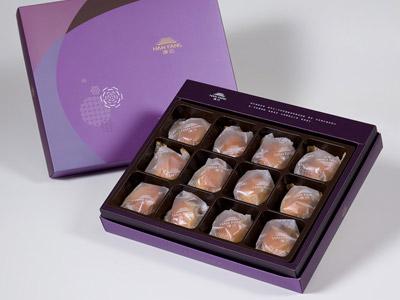 漢坊【臻饌】伯爵抹茶12入禮盒(蛋奶素)