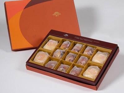 漢坊【御藏】綜合13入禮盒★綠豆椪*2+純綠豆椪*2+焦糖栗子*9