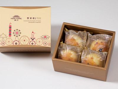 漢坊【典藏】金韻蛋黃酥4入禮盒(蛋奶素)