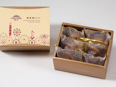 漢坊【典藏】夏威夷豆堅果塔6入禮盒(蛋奶素)