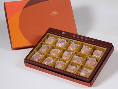 【御藏】焦糖栗子15入禮盒(蛋奶素)