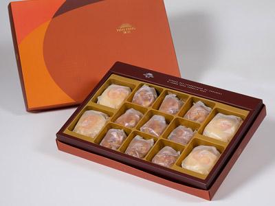漢坊【御藏】綜合13入禮盒★綠豆椪*2+純綠豆椪*2+辣味夏威夷豆堅果塔*9