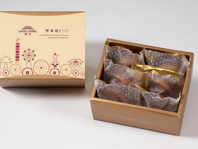 漢坊【典藏】辣味夏威夷豆堅果塔6入禮盒