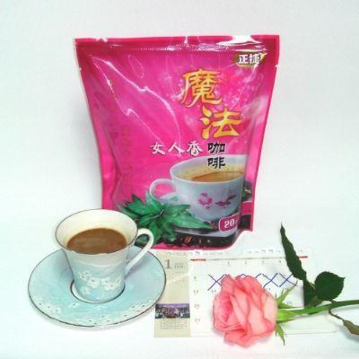 正捷國際金魔法女人香咖啡5盒