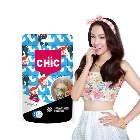 CHiC Q彈系蒟蒻麵-海洋鮮蝦風味