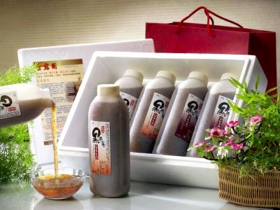 960cc白木耳露禮盒(5入)紅晶冰糖x5