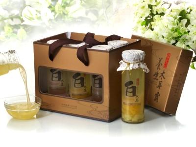 240cc白木耳露禮盒(6入)蜂蜜x6