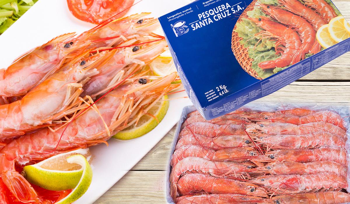 阿根廷L1生食級天使紅蝦 2KG盒裝