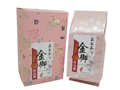 雀悅金御紅烏龍冷泡茶經濟包盒