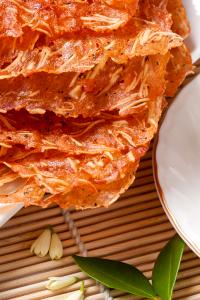 原味杏仁豬肉紙 (中)