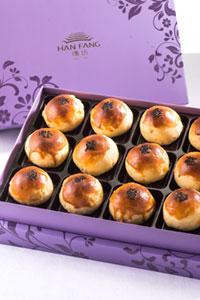 【臻饌】沖繩黑糖蛋黃酥12入禮盒(蛋奶素)